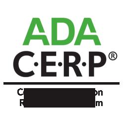 ADA Continuing Education Recognition Program logo